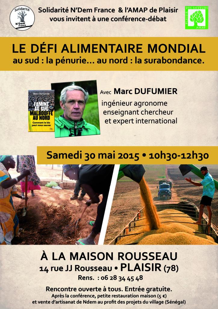 affiche Conf Dufumier - N'Dem - Vdef